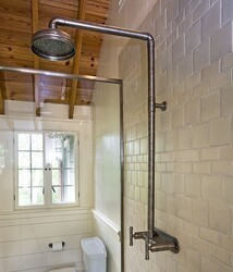 SONOMA FORGE WB-SHW-840 WATERBRIDGE 43 3/4 INCH WALL MOUNT EXPOSED SHOWER SYSTEM
