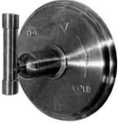 SONOMA FORGE WE-PB WHEREVER 7 1/4 INCH WALL MOUNT ROUND PRESSURE BALANCE VALVE AND TRIM