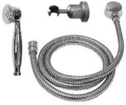 SONOMA FORGE SF-10-275 8 1/4 INCH WALL MOUNT HAND SHOWER KIT WITH SMALL FACED HAND WAND