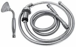 SONOMA FORGE SF-10-320 8 3/4 INCH DECK MOUNT SINGLE-FUNCTION HAND SHOWER KIT WITH LARGE FACED HAND WAND