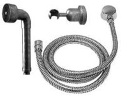 SONOMA FORGE WB-10-255 8 1/4 INCH WALL MOUNT HAND SHOWER KIT WITH WATERBRIDGE STYLE HAND WAND