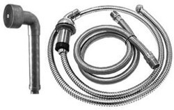 SONOMA FORGE WB-10-276 8 1/4 INCH DECK MOUNT HAND SHOWER KIT WITH WATERBRIDGE STYLE HAND WAND