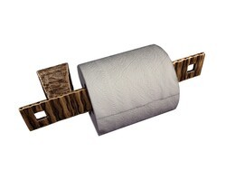 SONOMA FORGE CX-ACC-TP CIXX 10 INCH WALL MOUNT TOILET PAPER HOLDER