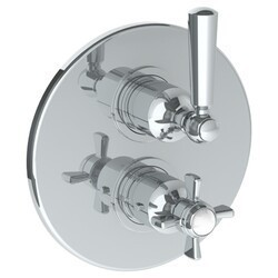 WATERMARK 206-T20 PARIS 7 1/2 INCH WALL MOUNT THERMOSTATIC SHOWER TRIM WITH BUILT-IN CONTROL