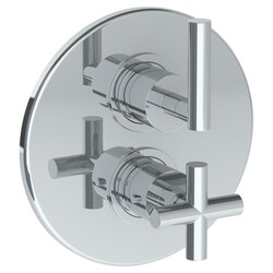 WATERMARK 23-T20 LOFT 7 1/2 INCH WALL MOUNT THERMOSTATIC SHOWER TRIM WITH BUILT-IN CONTROL