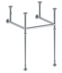 WATERMARK CON30-TRDST-T-TB1-FB1 PARIS 28 1/4 INCH CONSOLE LEG FOR 30 INCH TOP TAPERED LEG AND 2 1/4 INCH FOOT BASE