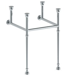 WATERMARK CON30-TRDST-T-TB2-FB1 PARIS 28 1/4 INCH CONSOLE LEG FOR 30 INCH TOP TAPERED LEG AND 2 1/4 INCH FOOT BASE