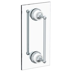 WATERMARK 180-0.1A-DDP VENETIAN 24 INCH GLASS MOUNT DOUBLE SHOWER DOOR PULL