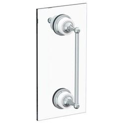 WATERMARK 180-0.1-18SDP VENETIAN 18 INCH GLASS MOUNT SHOWER DOOR PULL WITH KNOB AND HOOK