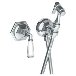 WATERMARK 314-4.4 BEVERLY 2 7/8 INCH WALL MOUNT BIDET SPRAY SET WITH MIXER AND 49 INCH HOSE