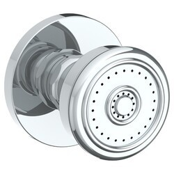 WATERMARK SS-BS1002 1 7/8 INCH WALL MOUNT ROUND BODY SPRAY WITH RIDGED FACE