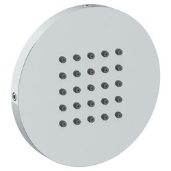 WATERMARK SS-BS500 4 INCH WALL MOUNT ROUND FLAT BODY SPRAY WITH EASY CLEAN NOZZLES