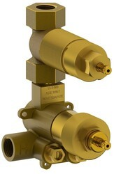 WATERMARK SS-TH60 1/2 INCH MINI THERMOSTATIC VALVE WITH VOLUME CONTROL