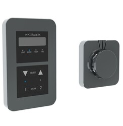 WATERMARK SS-SSED02 EDGE 5 5/8 INCH SQUARE STEAM SHOWER CONTROL