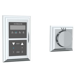 WATERMARK SS-SSTR01 TRANSITIONAL 5 3/4 INCH SQUARE STEAM SHOWER CONTROL