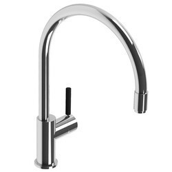 LEFROY BROOKS X1-2040 XO 15 1/4 INCH ZU SINGLE HOLE DECK MOUNT KITCHEN MIXER WITH LEVER HANDLE AND PULL-OUT HOSE