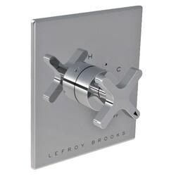 LEFROY BROOKS K1-4300 KAFKA 5 7/8 INCH PRESSURE BALANCE TRIM ONLY WITH CROSS HANDLE