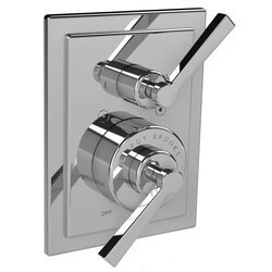 LEFROY BROOKS M1-4303 MACKINTOSH 5 7/8 INCH PRESSURE BALANCE TRIM ONLY WITH 2 WAY DIVERTER AND LEVER HANDLE