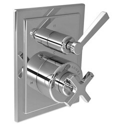 LEFROY BROOKS M1-4308 MACKINTOSH 5 7/8 INCH PRESSURE BALANCE TRIM ONLY WITH 3 WAY DIVERTER