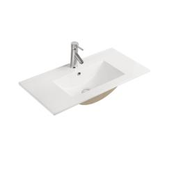 EVIVA EVSK24X18 24 X 18 INCH BATHROOM SINK IN WHITE