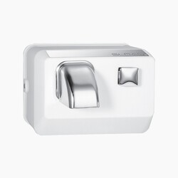 SLOAN 3366011 EHD-301 PUSH BUTTON ACTIVATED HAND DRYER - SATIN CHROME