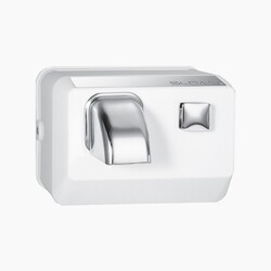 SLOAN 3366013 EHD-302 PUSH BUTTON ACTIVATED HAND DRYER - SATIN CHROME