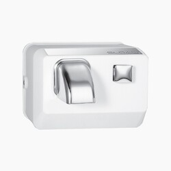 SLOAN 3366017 EHD-304 PUSH BUTTON ACTIVATED HAND DRYER - SATIN CHROME