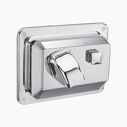 SLOAN 3366021 EHD-351 PUSH BUTTON ACTIVATED HAND DRYER - SATIN CHROME
