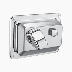 SLOAN 3366027 EHD-354 PUSH BUTTON ACTIVATED HAND DRYER - SATIN CHROME