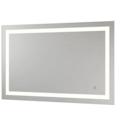 APTATIONS 35351HW-WHITE 43.3 INCH NEOCLASSIC BACKLIT MIRROR WITH WHITE WALL WASH AMBIENT LIGHT
