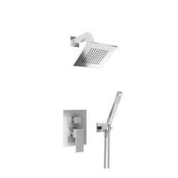 ISENBERG 160.3250 SERIE 160 TWO OUTPUT SHOWER SET WITH SHOWER HEAD AND HAND HELD