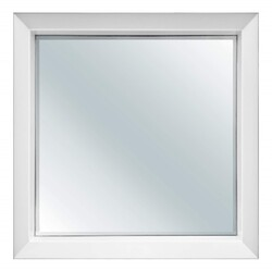 FINE FIXTURES MXM24WH MAXI 24 INCH X 25 5/8 INCH WALL MOUNT SQUARE MIRROR - WHITE