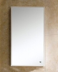 FINE FIXTURES GMMC18 GLAMOUR 17 3/4 INCH SURFACE MEDICINE CABINET