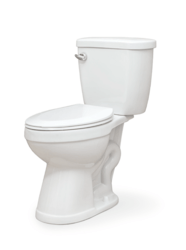 FINE FIXTURES BETBN1W FREE STANDING TWO-PIECE ELONGATED TOILET - WHITE