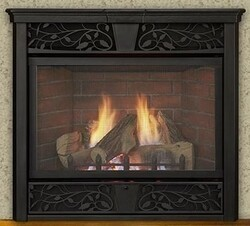 MONESSEN VFC24LPI SYMPHONY 24 INCH PROPANE GAS VENT FREE FIREPLACE WITH INTERMITTENT PILOT CONTROL