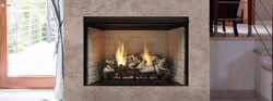 MONESSEN BUF36-R EXACTA 36 INCH VENT FREE FIREBOX WITH RADIANT FACE AND REFRACTORY INTERIOR
