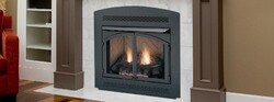 MONESSEN MCUF36D-R MAGNUM 36 INCH CLEAN FACE VENT FREE FIREBOX WITH HERRINGBONE REFRACTORY FIREBRICK