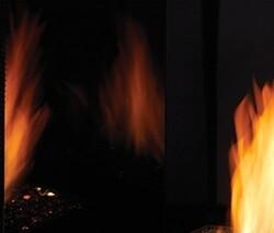MONESSEN BMGLR32 MAGIC GLASS LINER KIT FOR LCUF32 FIREBOX - BLACK