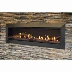 MAJESTIC ECHEL60IN-C ECHELON II 60 INCH TOP DIRECT VENT NATURAL GAS FIREPLACE WITH INTELLIFIRE TOUCH IGNITION SYSTEM