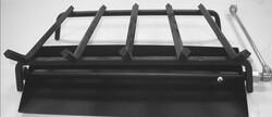 MAJESTIC MHK18NG SAND PAN BURNER SINGLE-SIDED FIREPLACES 18 INCH MATCHLIGHT HEARTH KIT - BLACK