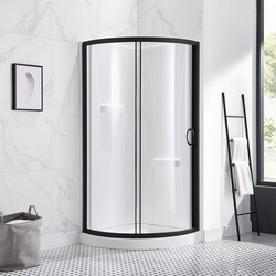 OVE DECORS 15SKA-BRE32-AC BREEZE 32 INCH SHOWER KIT WITH GLASS PANELS, WALLS AND BASE INCLUDED