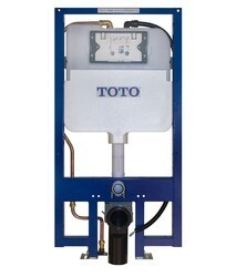 TOTO WT173MA DUOFIT IN-WALL TANK UNIT, 1.28 GPF & 0.9 GPF WITH AUTO FLUSH CONNECTION