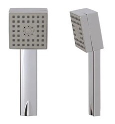 AQUABRASS ABHS85275 3 1/8 INCH SQUARE MULTI-FUNCTION 2.5 GPM HANDSHOWER