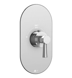 AQUABRASS ABSTR3053 OTTO ROUND TRIM SET FOR ABSV12000 AND ABSV03000 THERMOSTATIC VALVES