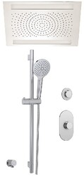 AQUABRASS ABSZSFD09PC SHOWER SYSTEM D9 SHOWER FAUCET - POLISHED CHROME