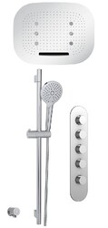 AQUABRASS ABSZSFT01PC SHOWER SYSTEM T1 SHOWER FAUCET - POLISHED CHROME