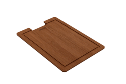 BOCCHI 2320 0001 WOODEN CUTTING BOARD WITH HANDLE