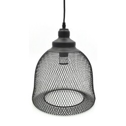 A TOUCH OF DESIGN GP3079N1-C SUMMIT MODERN BLACK WIRE PENDANT CEILING LIGHT, DOME SHAPE