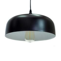 A TOUCH OF DESIGN CL1012541 EUCLID BLACK 1-LIGHT ALUMINUM METAL CEILING PENDANT DOWNLIGHT