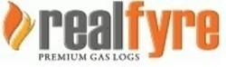 REAL FYRE AOL-T VENTED DESIGNER SERIES AMERICAN OAK TOP GAS LOG